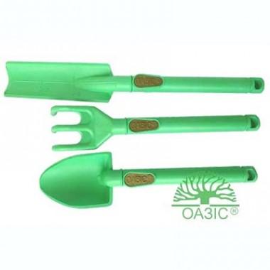 Набір для кімнатних рослин з 3-х предметів (2 лопатки, 1 грабельки) в киеве