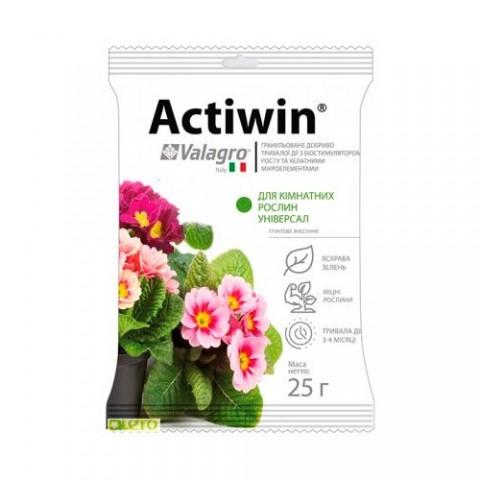 Комплексне мінеральне універсальне добриво для кімнатних рослин Actiwin (Активін), 25г, NPK 9.16.14 фото