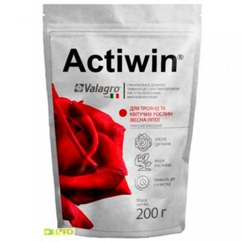 Комплексне мінеральне добриво для троянд і квітучих рослин Actiwin (Активін), 200г, NPK 12.5.20, Весна-Літо фото