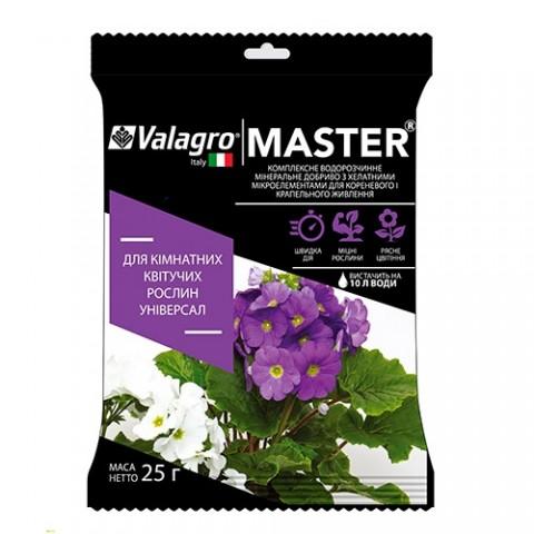 Комплексне мінеральне універсальне добриво для кімнатних квітучих рослин Master (Майстер), 25г, NPK 13.40.13 фото