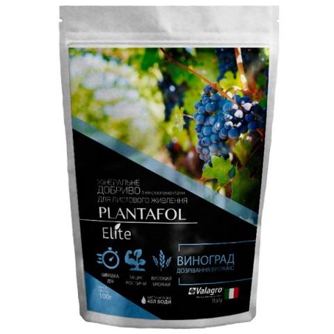 Комплексне мінеральне добриво для винограду, дозрівання врожаю, Plantafol Elite (Плантафол Еліт), 100г, NPK 5.15.45 фото