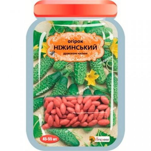 Огірок Ніжинський дражоване насіння фото