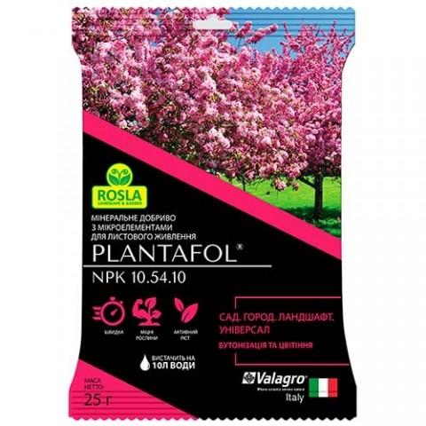Комплексне мінеральне універсальне добриво для ландшафту, саду та городу, Plantafol (Плантафол), 25г, NPK 10.54.10 фото