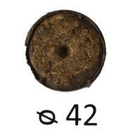 Таблетка торф'яна в сітці d 42 мм фото