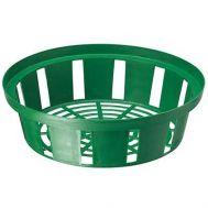 Кошик для цибулин круглий 23 см зелений фото