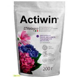 Комплексне мінеральне добриво Actiwin для гортензій, азалій, магнолій і рододендронів 200г, NPK 12.5.20, Весна-Літо фото
