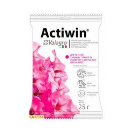 Комплексне мінеральне добриво для петуній, сурфіній, гераней та інших квітучих рослин Actiwin (Активін), 25г, NPK 9.16.14 фото