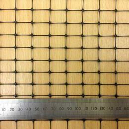 Чорна Пластикова Садова Сітка з розміром вічка 18*18 мм фото