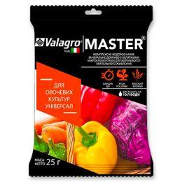 Комплексне мінеральне універсальне добриво для овочевих культур Master (Майстер), 25г, NPK 18.18.18 фото