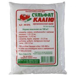 Сульфат калію К-52% 0,5 кг фото