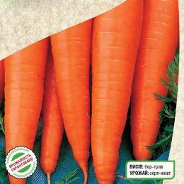 Морква Червоний Велетень фото