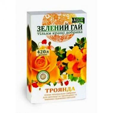 Удобрение Зеленый Гай Роза, Садовые цветы 300 гр интернет-магазин