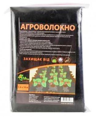 Агроволокно чёрное 60 г/м² 1,6х10 м фото цена