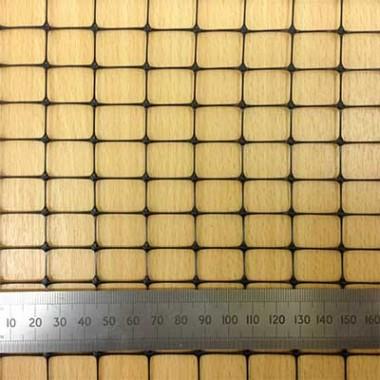Черная Пластиковая Садовая Сетка с размером ячейки 18*18 мм интернет-магазин