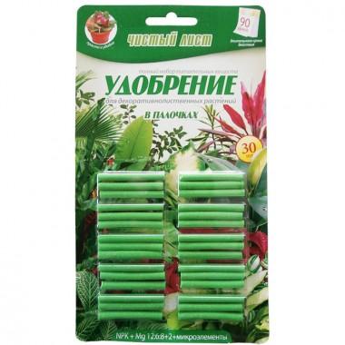 Чистый лист (палочки) для декоративно-лиственных растений 30 шт фото цена