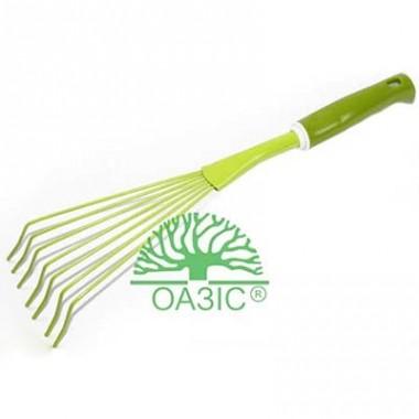 Веничек для сбора листвы с пластмассовой  рукояткой описание