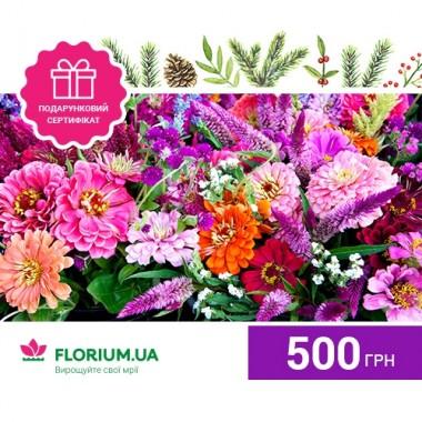 500 грн - подарочный сертификат фото