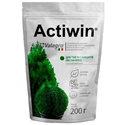 Комплексное минеральное удобрение для туй и самшитов Actiwin (Активин), 200г, NPK 12.5.20, Весна-Лето, фото