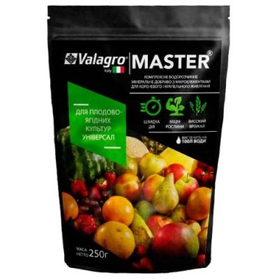 Комплексное минеральное универсальное удобрение для плодово-ягодных культур Master (Мастер), 250г, NPK 20.20.20 фото