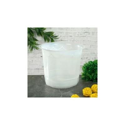 Горшок 16 см Для орхидей, цвет белый фото