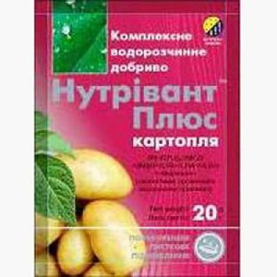 Нутривант Плюс картофель фото