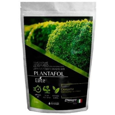 Комплексное минеральное удобрение для самшита и вечнозеленых кустарников, Plantafol Elite (Плантафол Элит), 100г, NPK 20.20.20 фото