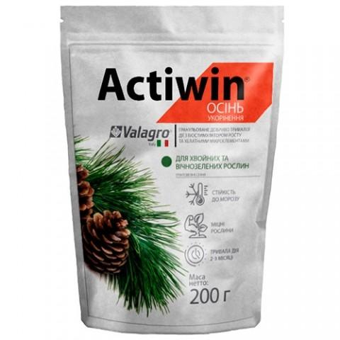 Комплексное минеральное удобрение для хвойных и вечнозеленых Actiwin (Активин), 200г, NPK 9.16.14 фото