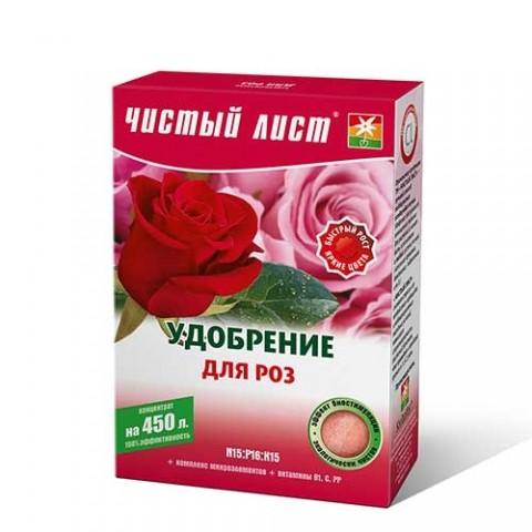 Чистый лист Удобрение для роз 300г фото