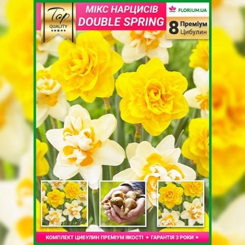 Нарцисс Double Spring Mix (Премиум луковицы) фото