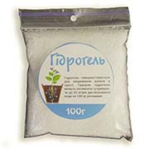 Гидрогель для удержания влаги в растениях 100 г фото