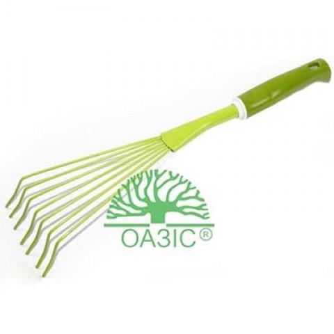 Веничек для сбора листвы с пластмассовой  рукояткой фото