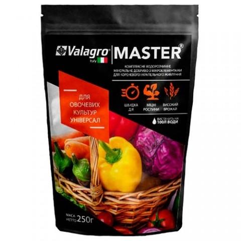 Комплексное минеральное универсальное удобрение для овощных культур Master (Мастер), 250г, NPK 18.18.18 фото