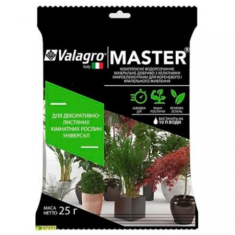 Комплексное минеральное универсальное удобрение для декор.-листв. комнатных растений Master (Мастер), 25г, NPK 17.6.18 фото