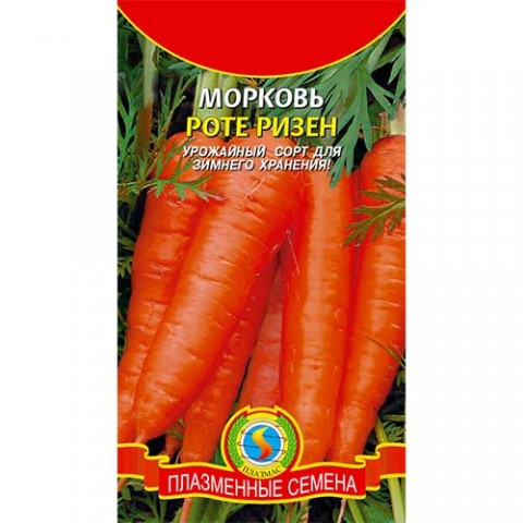 Морковь Роте Ризен фото