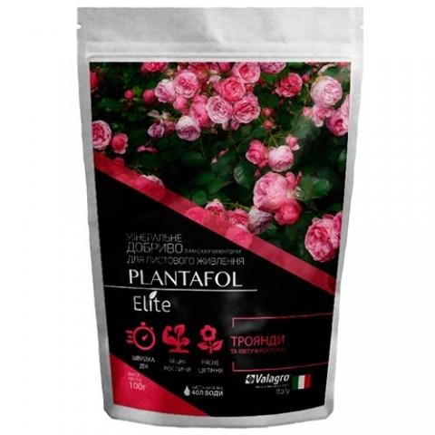Комплексное минеральное удобрение для роз и цветущих растений, Plantafol Elite (Плантафол Элит), 100г, NPK 10.54.10 фото