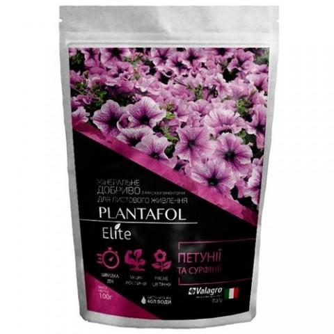 Комплексное минеральное удобрение для петуний и сурфиний, Plantafol Elite (Плантафол Элит), 100г, NPK 10.54.10 фото