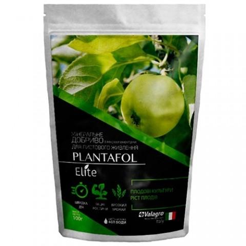Комплексное минеральное удобрение для плодовых культур, рост плодов, Plantafol Elite (Плантафол Элит), 100г, NPK 20.20.20 фото