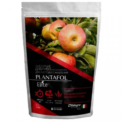 Комплексное минеральное удобрение для плодовых культур, созревание плодов, Plantafol Elite (Плантафол Элит), 100г, NPK 5.15.45 фото