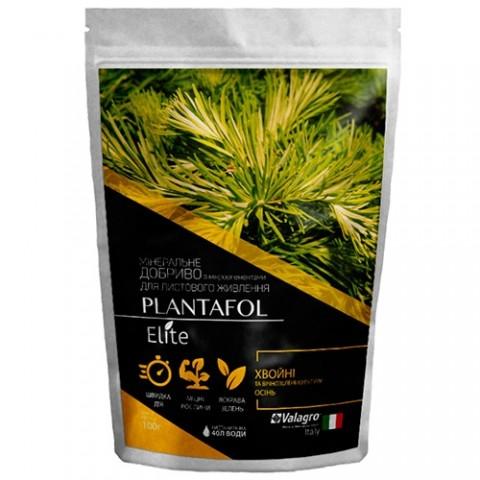 Комплексное минеральное удобрение для хвойных и вечнозеленых культур, Plantafol Elite (Плантафол Элит), 100г, NPK 5.15.45, Осень фото