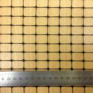 Черная Пластиковая Садовая Сетка с размером ячейки 18*18 мм фото
