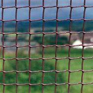 Коричневая Пластиковая Садовая Сетка с размером ячейки 19*19 мм фото