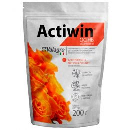 Комплексное минеральное удобрение для роз и цветущих растений Actiwin (Активин), 200г, NPK 9.16.14, Осень фото