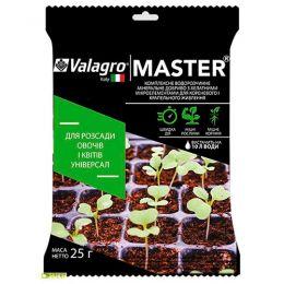 Комплексное минеральное универсальное удобрение для рассады овощей и цветов Master (Мастер), 25г, NPK 13.40.13 фото