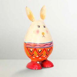 Раскрашенный Кролик (железный) фото