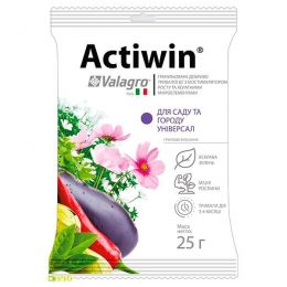 Комплексное минеральное удобрение для сада и огорода Actiwin (Активин), 25г, NPK 12.5.20 фото